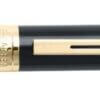 9325 Black Gold Trims Rollerball Pen2