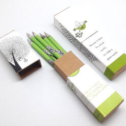 Pen Box (set of 5 pens) - Eco Theme