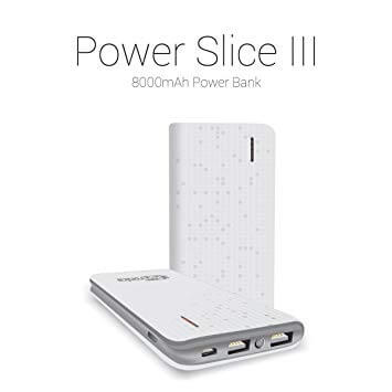 PORTRONICS SLICE III 8000MAH POWER BANK