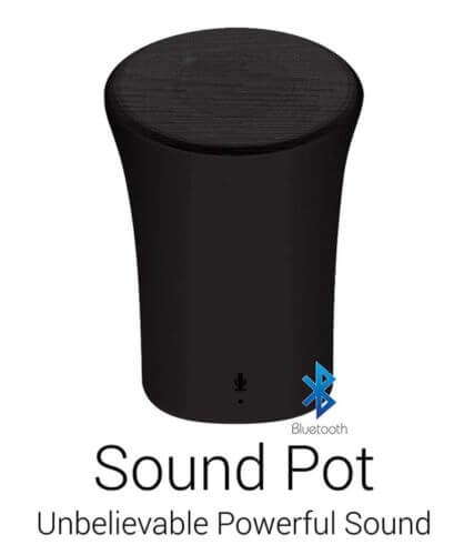 PORTRONICS SOUND POT BLUETOOTH SPEAKER +AUX