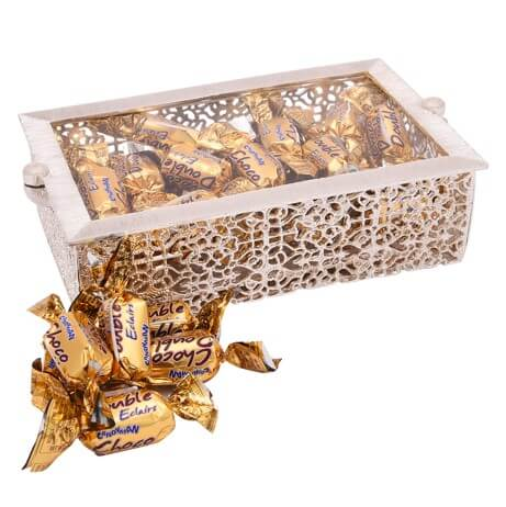 Gift, Chocolate, Sweet Box with Acrylic Container & Magnetic Cover1