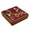 Coasters (set of 6) - Kalamkari Theme