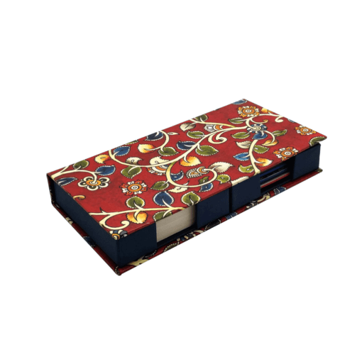 Double Memo Box - Kalamkari Theme