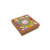 Coasters (set of 6) - Madhubani Vibrant Theme