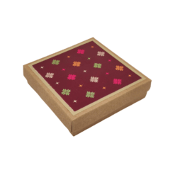 Coasters (set of 6) - Phulkari Theme