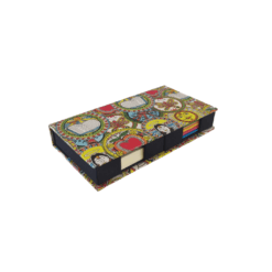 Double Memo Box - Madhubani Vibrant Theme