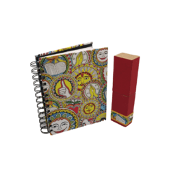 Madhubani Stationery Set