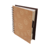Notebook (Spiral) With Separators – Madhubani Rustic Theme