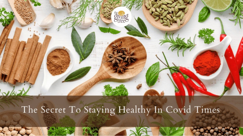 The Secret To Staying Healthy In Covid Times