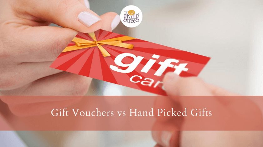 Gift Vouchers vs Hand Picked Gifts